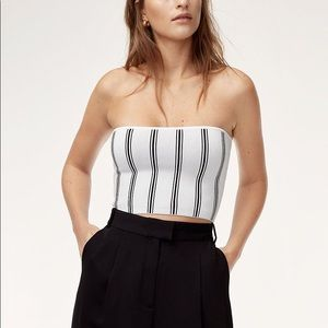 Aritzia stripped tube top